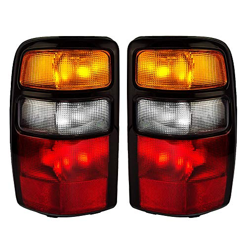 Epic Lighting OE Fitment Replacement Rear Brake Tail Lights for 2004-2006 Chevrolet GMC Suburban TahYukon Yukon Denali [GM2800170 GM2801170 15832091 15832092] Left Driver & Right Passenger Sides Pair