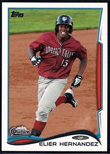 2014 Topps Pro Debut #91 Elier Hernandez MLB Baseball Card NM-MT