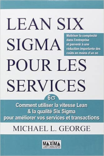 Livre gratuits en ligne Lean six sigma pour les services epub pdf