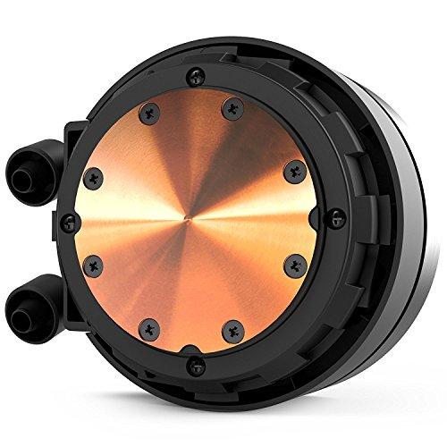 NZXT Kraken X62 280mm - All-In-One RGB CPU Liquid Cooler - CAM-Powered -  Infinity Mirror Design - Performance Engineered Pump - Reinforced Extended