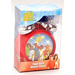 Walt Disney Hannah Montana Desktop Alarm Clock in Purple Color and Hannah Montana Wallet with Zipper