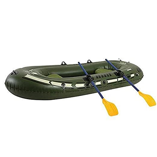 YDHYYDQCFJL Juego De Botes Inflables - con Remos Y Bomba-Kayak ...