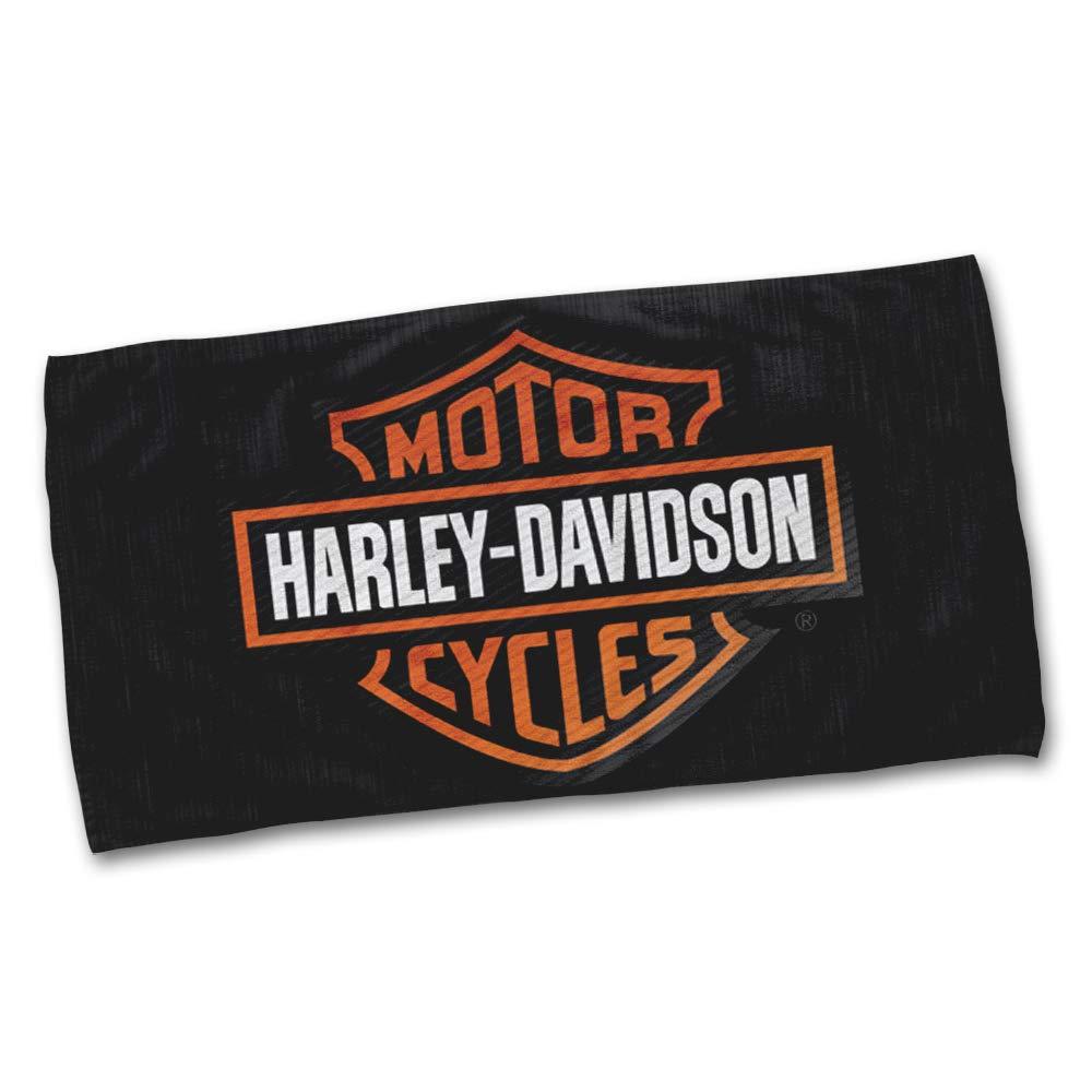 100/_x/_150/_cm Publiassia Stamperia Harley Davidson Telo Mare Personaggi Passione Collezione Moto Idea Regalo Motor Motorcyclist Biker Accessori Estate Mare Vacanza 2