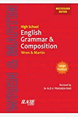 High School English Grammar and Composition Book (Multicolour Edition) Kindle Edition