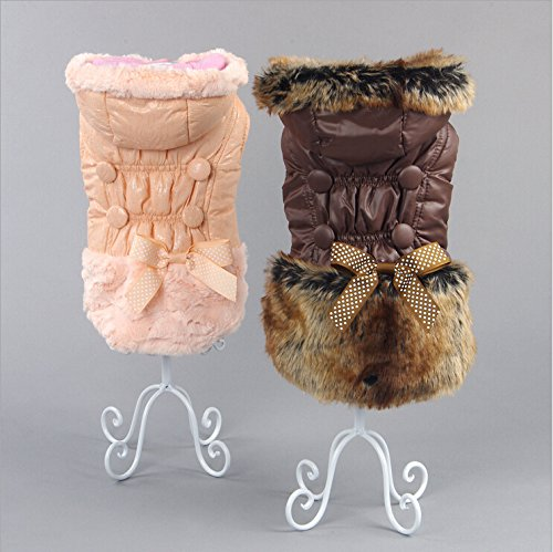 Coffee XXL coffee XXL GigaMax(TM) Dog Clothes Winter,Clothing For dogs,Pet Clothing Dog Sweater Pet Jacket Coat Dog Apparel