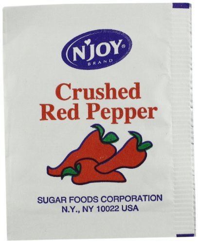 N'Joy Crushed Red Pepper, 500 Count