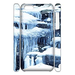 SNOW CHA5086571 3D Art Print Design Phone Back Case Customized Hard Shell Protection Iphone 5C