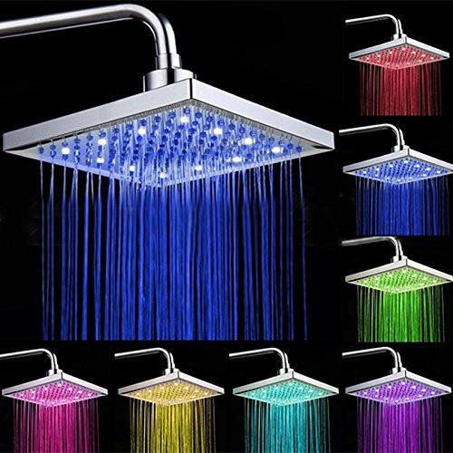 7 Color Led Light Shower Head - 8