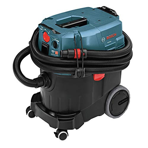 Bosch VAC090AH-RT 9-Gallon Dust Extractor with Auto Filter Clean and HEPA Filter (Certified Refurbished)