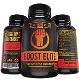 BOOST-ELITE-Testosterone-Booster-Increase-Testosterone-Libido-Energy-11-Powerful-Ingredients-Including-Tribulus-Terrestris-Fenugreek-Yohimbe-Maca-Horny-Goat-Weed-Tongkat-Ali-90-Caps