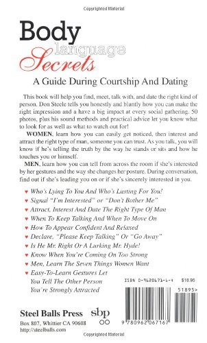 body language secrets a guide during courtship &