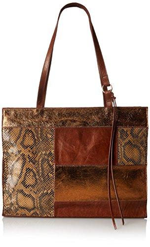 HOBO Hobo Vintage Valerie Tote Handbag, Python Patchwork, One Size - Python Hobo Handbag