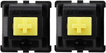 90-Pieces CuXiu Gateron KS 3 Black Housing Yellow Switch Compatible