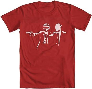 Daft Punk Pulp Fiction camiseta para hombre: Amazon.es: Libros