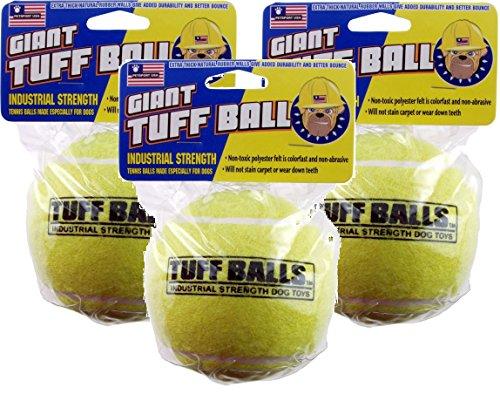 (3 Pack) Petsport Giant Tuff Ball (Cat Petsport Balls)