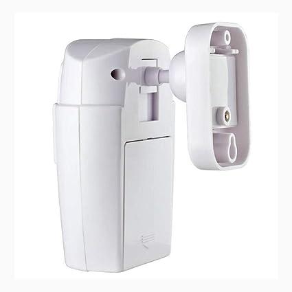 fghdfdhfdgjhh PIR Sensor de Movimiento Alarma Inalámbrico Garaje doméstico Caravan 2 Controles remotos Seguridad PIR Detectores