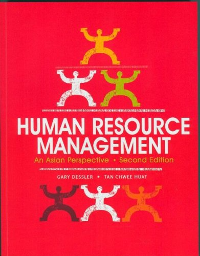 Human Resource Management: An Asian Perspective 2nd Edition