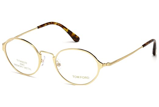 0315f4ed9896 Image Unavailable. Image not available for. Color  TOM FORD Eyeglasses  FT5350 028 Shiny Rose Gold 48MM