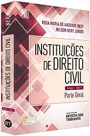 Instituições de Direito Civil. Parte Geral - Tomo II. Volume 1