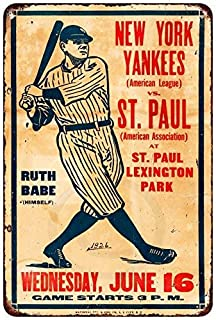 "BRONX BOMBERS Street Sign new york baseball fan NY Indoor//Outdoor 18/"" Wide"