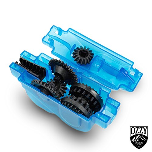 Bike Chain Cleaning Tool by Ozzy Outdoors-Our newly designed cleaner uses rotating brushes to make bicycle chain maintenance easy-BONUS GIFT with purchase by Ozzy Gear (Image #2)