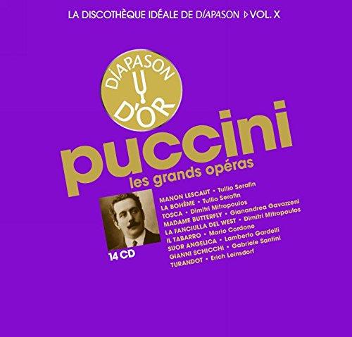La discothèque idéale de Diapason, vol. 10 / Puccini : Les grands opéras.: Maria Callas, Giuseppe Di Stefano: Amazon.es: Música