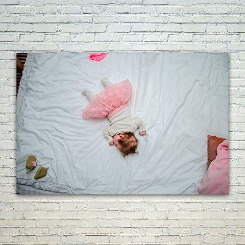 Westlake Art Poster Print Wall Art - White Pink - Modern Pic