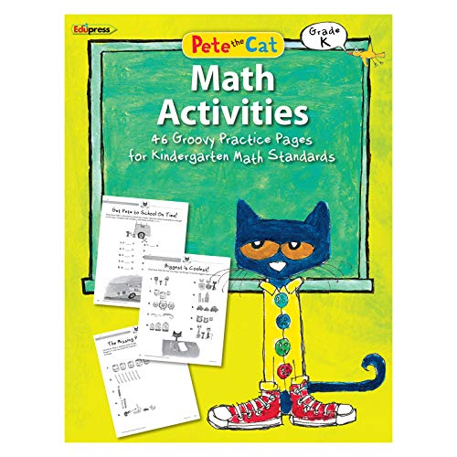 Teacher Created Resources EP-3512 Pete The Cat Math Workbook