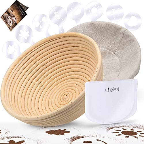 Chefast Banneton Proofing Basket Set product image