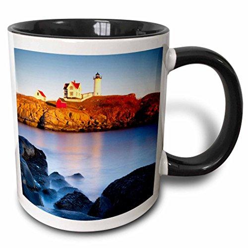 3dRose mug_144540_4 Nubble Lighthouse At Cape Neddick, Maine, USA-Us20 Bjn0030-Brian Jannsen Ceramic, 11 oz, (Cape Neddick Lighthouse)