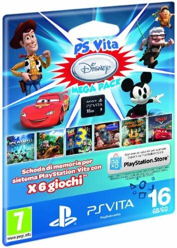 Sony PS Vita Disney Mega Pack + 16GB - accesorios de juegos de pc ...