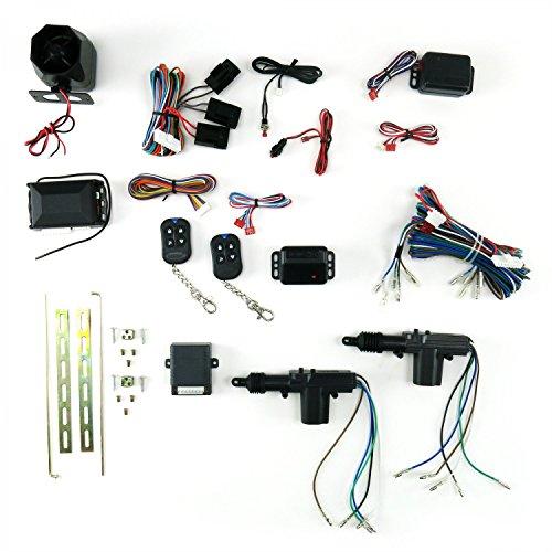 AutoLoc Power Accessories CA2000 2 Door Lock Kit with Alarm ratrod racing sbc formula bbs scta 671 parts big dog