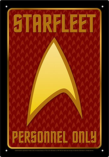 Aquarius Star Trek Personnel Tin - Art Trek Star