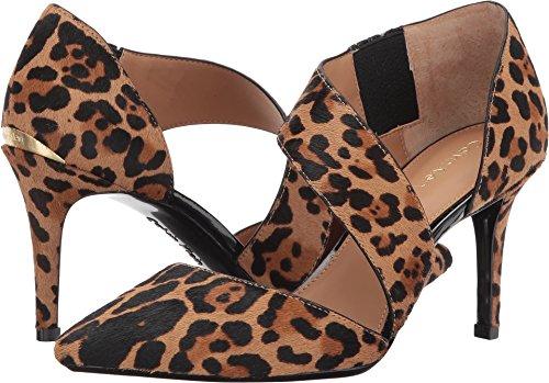 Calvin Klein Women's Gella Dress Pump, Leopard Haircalf, 7 Medium US