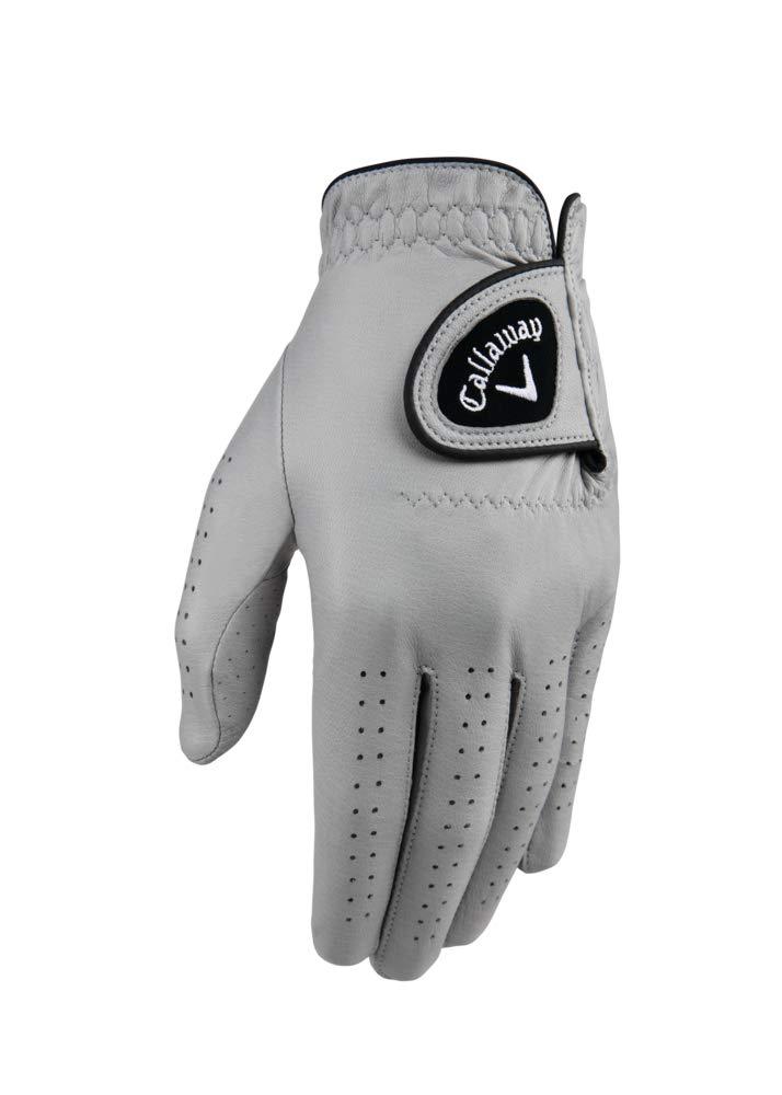 Callaway Golf Men's Opticolor Leather Glove, Worn