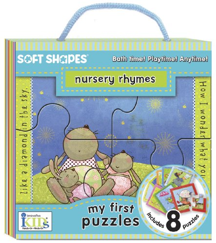 Innovative Kids Soft Shapes My First Nursery Rhymes Puzzle