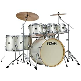 Tama Superstar Classic 7-piece Shell Pack - Arctic Pearl White 5