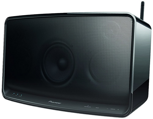 Pioneer XW-SMA4-K Wi-Fi Speaker featuring AirPlay, DLNA, HTC Connect and Wireless Direct (Discontinued by Manufacturer)