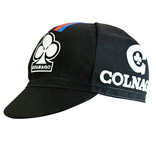 Colnago Cicli World Champion Rainbow Bands Cycling Cap - Black AC-491134538