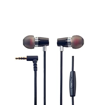 ROCK JAW Alfa Genus V2 Earphones with In-Line Mic: Amazon.co.uk ...