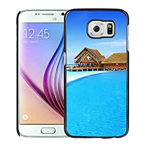New Fashion Custom Designed Skin Case For Samsung Galaxy S6 Phone Case With Maldives Vacation Phone Case Cover