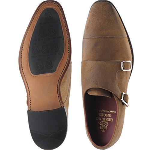 Herring Herring Hailes - Zapatos de cordones de Piel para hombre Marrón - beige oscuro