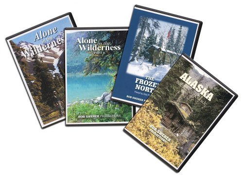 Alone in the Wilderness 4 DVD package by