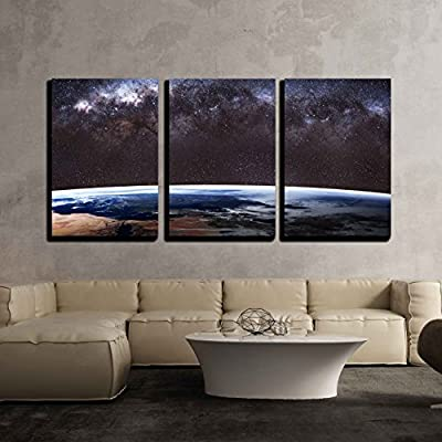 Earth from Outer Space Wall Decor x3 Panels...