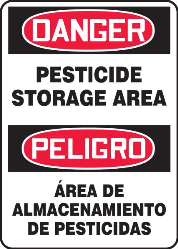 Accuform SBMCAW109VP Plastic Spanish Bilingual Sign, Legend