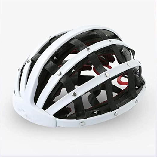 Y-M-H Casco Plegable Portátil Ocio Urbano Equitación Bicicleta de ...
