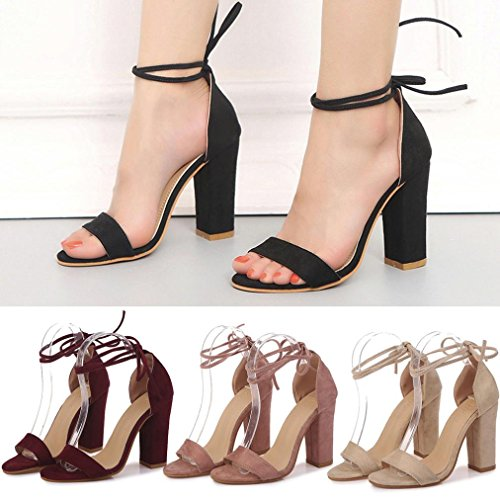 Sandali BK EU amp;H Wedges Donna NEEDRA S Middle 39 Estivi Weave da Heel vE4A7qd