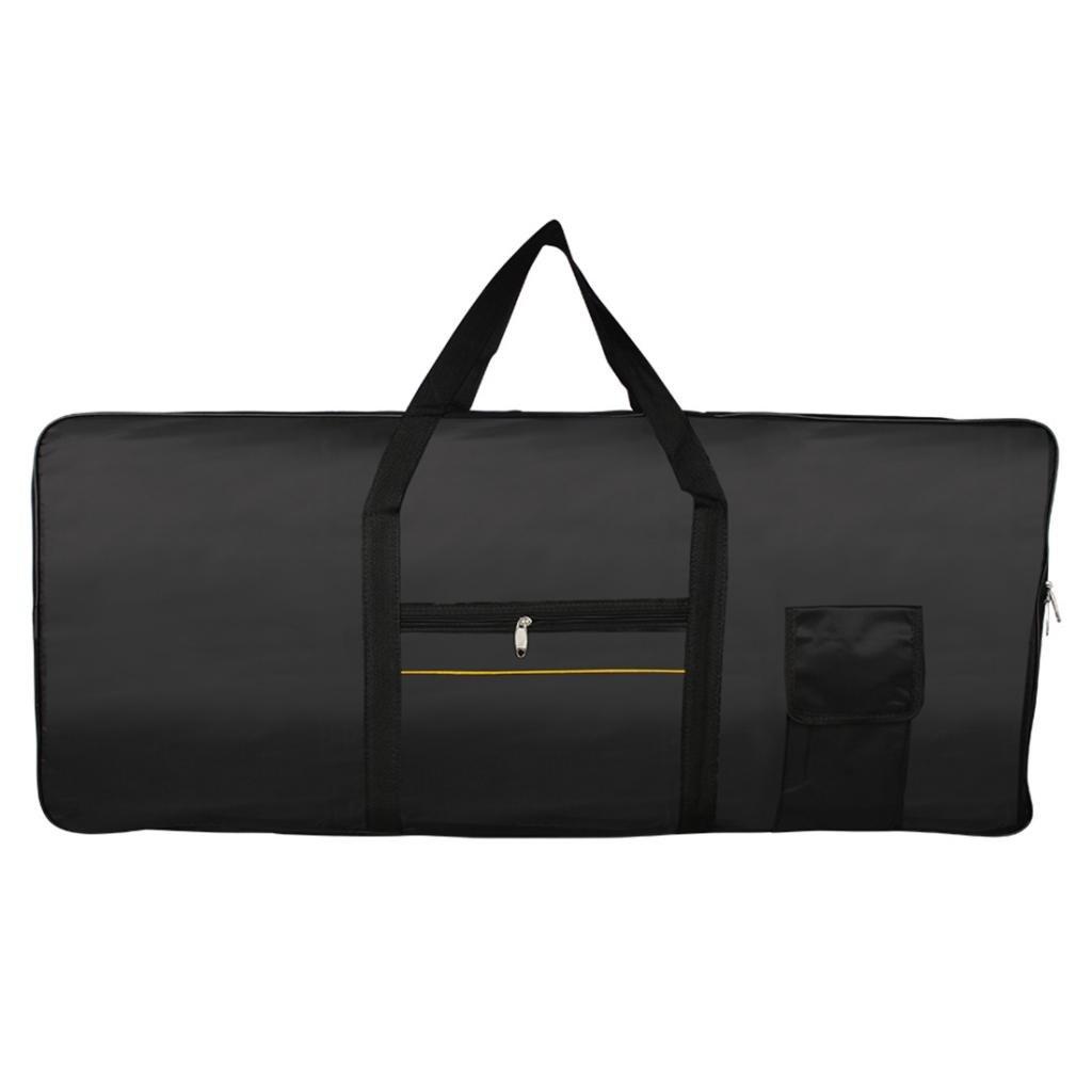 MagiDeal Bolsa de Teclado Piano Electrónico 61 Teclas de color Negro 0579002010279DEA