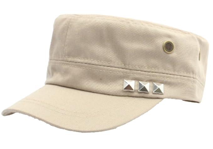 Belsen Cappello Militare Army Cappellino Berretto Esercito Unisex (Beige) 9bcffb2ff227