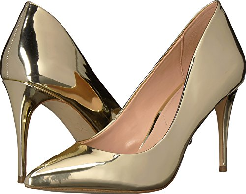 ALDO Womens Traycey Gold 37.5 (US Women's 7) B - Medium